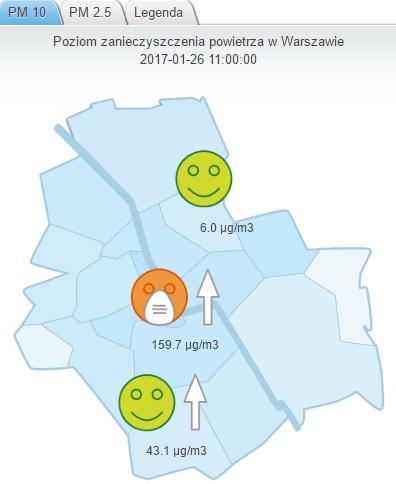 20170126 smog w warszawie roznice