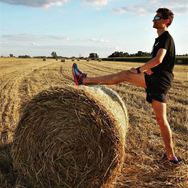 Przerwa w niwach  czas na trening   stretchinghellip